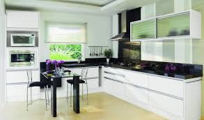 Modern Black Glass Dining Table Kitchen Modern Compact Kitchen Ideas Fancy Compact Kitchen With