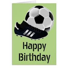 soccer theme greeting cards zazzle