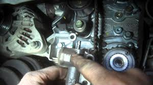 timing belt replacement hyundai sonata 2 7l v6 2005 water pump