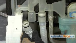 Fisher And Paykel Nautilus Dishwasher Manual Dishwasher Drain Hose Part 00298564 How To Replace Youtube