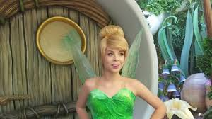 peter pan is being mean to tinkerbell at disneyland youtube
