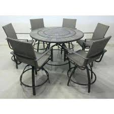 high top patio table and chairs bar height patio table and chairs medium size of likable furniture