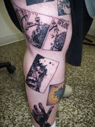 image the walking dead comic tattoo 1 jpg walking dead wiki