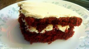 valentine hangover red but not quite velvet cake sugar spice etc