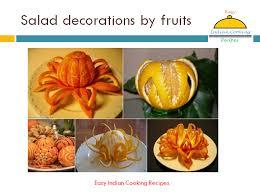fruit decorations salad decoration by fruits fruit based salad design pattern