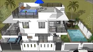 2 house with pool modern 2 storey house with roofdeck swimming pool