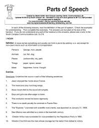 parts of speech worksheets 8th grade free worksheets library