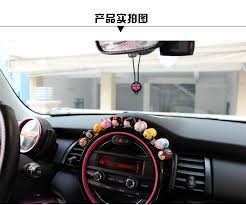 fortwo 10 pieces car dashboard ornament silicone creative
