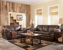 harness brown contemporary faux leather living room by ashley 84603