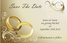 Make Your Own Save The Dates Save The Wedding Date Cards Justsingit Com
