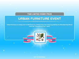 Woodworking Bench Sims by Urban Furniture Event Feb 2016 The Sims Freeplay