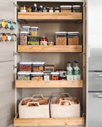 best kitchen storage ideas 10 best pantry storage ideas martha stewart
