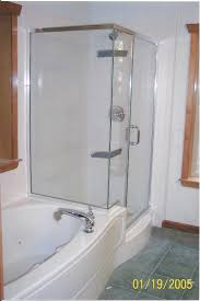 Corner Tub Bathroom Designs Ideas Witching Small Bathroom Design With Tub And Shower Using