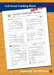 arrow of light scouting adventure 2015 cub scout adventure tracking one page the mormon home