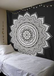 Light Colored Tapestry Hippie Tapestries Mandala Bohemian Tapestries U0026 Bedspreads