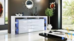 kommode weiãÿ hochglanz design sideboard unterschrank tv board vitrine kommode lima in weiß