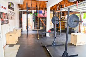 garage gyms rogue equipped gyms home gyms pinterest garage