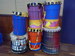 rhythm drumming u0026 dance recycled drum making