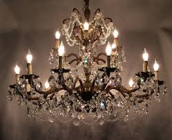 Chandeliers For Dining Room Antique Crystal Chandeliers For Dining Room U2014 Home Ideas