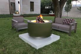 Wood Firepits Stainless Steel Pits L Wood Burning With A Ring L