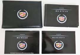 2002 cadillac deville owners manual guide book u2022 19 24 picclick