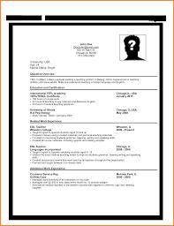 Resume Work Experience Examples For Customer Service by Resume Format Sample For Job Application Resume For Your Job