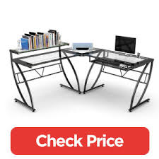 Z Line Belaire Glass L Shaped Computer Desk L Shaped Computer Desk Top 5 Desks You Should Check Out