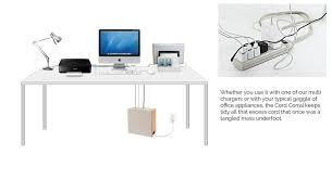 Cable Organizer Desk Cord Corral Cable And Cord Organizer With 6 Magnetically Secured