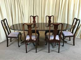 antique mahogany dining table u0026 chairs victorian extendable table