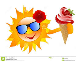 ice cream emoji sun with ice cream stock images image 31985984