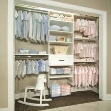 Baby Closet Storage White Concrete Floors Kids Shabby Chic Style With Baby Closet