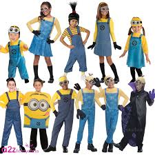 minions costume for toddlers kids boys girls official despicable me minion fancy dress up