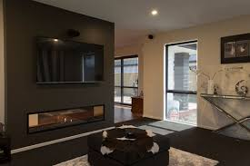 escea creates focal point in new home with double sided fireplace