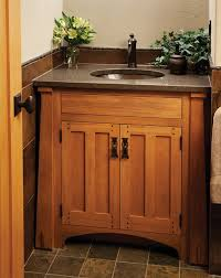 Craftsman Bathroom Vanity The Most Awesome Craftsman Style Bathroom Vanity With Regard To