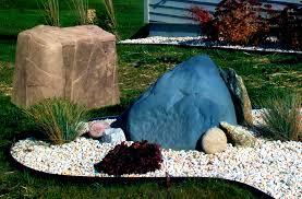home landscape rock rock garden garden pebbles landscaping