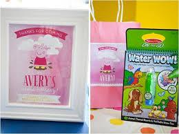 semi diy peppa pig birthday party supplies