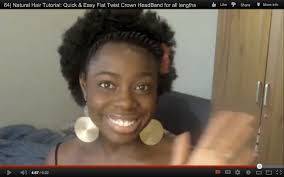 How To Do Flat Twist Hairstyles by Natural Hair Tutorial Quick U0026 Easy Flat Twist Crown Headband For