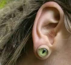 6 and strange earrings oddities
