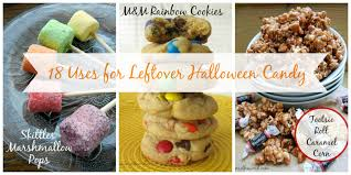18 recipes that use leftover halloween candy numstheword