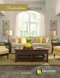 Klaussner Asheboro Nc Distinctions 2016 Catalog By Klaussner Home Furnishings Issuu