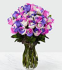multicolor roses rainbow roses rainbow flowers roses near me ftd
