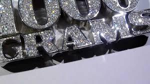 custom silver pendants 1550 lmj exclusive 1000 grams custom lab made diamond pendant