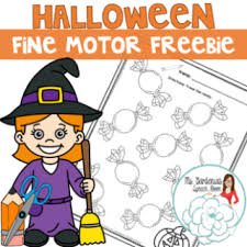 free preschool early childhood halloween speech therapy activities