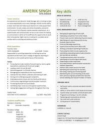 accomodation officer sample resume hotel manager cv template job