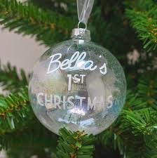 Baby S First Christmas Bauble 2012 Personalise by Brighton Spruce 6ft Artificial Christmas Tree Uniquely Christmas