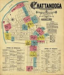 map of chattanooga tn map catalog charles a reeves jr