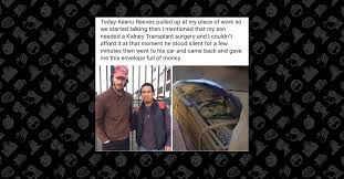Keanu Reeves Conspiracy Meme - did keanu reeves help pay for a stranger s kidney transplant with
