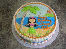 beach lua cakes veronica u0027s sweetcakes 16 kids hawaiian beach