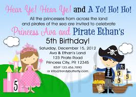 First Birthday Invitation Cards For Boys Printable Birthday Invitations Twins Siblings Pirate Party Invites