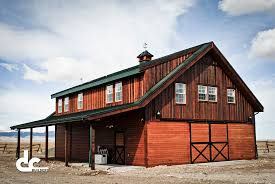 Rv Garages Pole Barn With Living Quarters Upstairs Barn Decorations